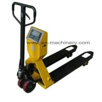 Buy cheap Hand Pallet Truck with Scale Rough Terrain Hydraulic Hand Pallet Truck for Trucks from wholesalers