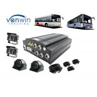 Buy cheap Public Bus Wifi Router 3G Mobile DVR GPS 4CH Hard Disk With Sim Card 8V - 36V from wholesalers