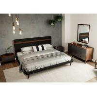 Buy cheap MDF Material Contemporary Bedroom Furniture Sets Panel Wood European Style from wholesalers