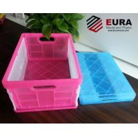 Buy cheap EURA Plastic Folding Crate/ Foldable Plastic storage box/ Collapsible crate from wholesalers
