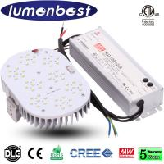 Buy cheap LED Retrofit Kit 120W for Street Lamp Shoxbox Fixture from wholesalers