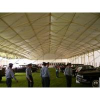 Buy cheap 18m White Waterproof Outdoor Exhibition Tents For Car Show / Flowers Show from wholesalers