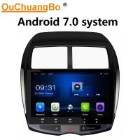 Buy cheap Ouchuangbo car radio head unit stereo for Mitsubishi ASX 2013-2015 with Bluetooth USB SWC gps navi video android 7.0 from wholesalers