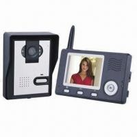 Buy cheap 3.5-inch Color LCD 2.4G Digital Wireless Video Door Phone with CMOS Camera Sensor product