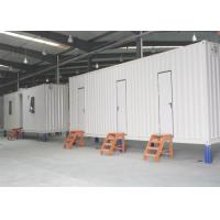 Buy cheap EPS Sanwish Panel Ablution Container , Prefabricated Mobile Toilet 20 Feet from wholesalers