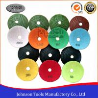 Buy cheap 100mm Convex Diamond Polishing Pads For Ogee Polish / Oval Shape from wholesalers