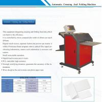 Buy cheap Hardcover Paper Photo Maker Machine Creasing and Folding Equipment from wholesalers