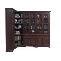 Buy cheap Home Office Study room furniture American style Big Bookcase Cabinet with from wholesalers