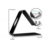 Buy cheap Supermarket Acrylic Cell Phone Stand Black Acrylic Mobile Phone Holder from wholesalers
