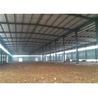 Buy cheap Modern Steel Structure Construction Steel Frame Warehouse With Sandwich Panel from wholesalers