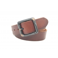 China 100% Pure Cow Leather Men's Casual Pin Buckle Belt on sale