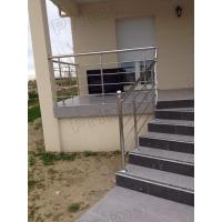 Buy cheap veranda aluminum railing / balcony railing design deck railing bracket from wholesalers