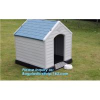 Buy cheap Wholesale luxury pet kennel igloo dog bed house, dog/cat/pet house/large wooden plastic dog house, waterproof pet house from wholesalers