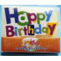 Buy cheap Colorful Alphabet Letter Birthday Candles For Party Decoration SGS Approval from wholesalers