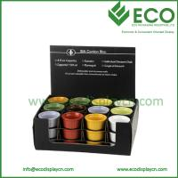 Buy cheap Cheap Cardboard Shop Display Counter for Cups, Customized Pop Display from wholesalers