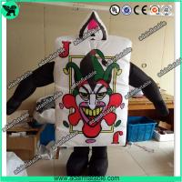Buy cheap Festival Event Parade Wlking Inflatable Poker Costume Moving Customized Inflatable from wholesalers