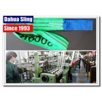 Duplex Flat Lifting Slings Safety Lifting Belt 5 Ton Wide Bearing Surface