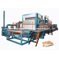 Buy cheap Fully Automatic pulp molding machine , Egg Tray Making Pulp Molding Machinery from wholesalers