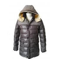 Buy cheap Adult Nylon Fur Hooded Down Coat Fashionable Park With Hood Attachable product