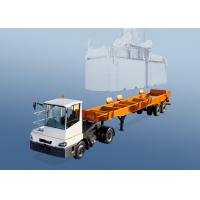 Buy cheap 2 Axles 40 Foot Container Chassis Trailer For Shipping Container In Terminal Port from wholesalers