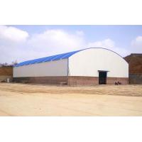 Buy cheap Large Span Steel Arch Buildings Metal Arch Roof Truss Sheds For Steel Material Storage from wholesalers