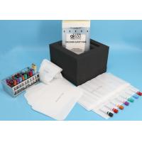Buy cheap Clinic Hospital Adhesive Closure 95kPa Biohazard Bag Flexo Printing product