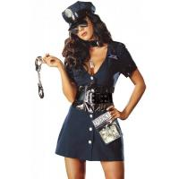 Buy cheap Halloween Corrupt Cop Adult Princess Costume Sexy Police Officer Swat from wholesalers