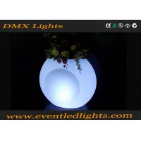 Buy cheap Garden decoration Color Changing Ceramic LED Flower Pots waterproof Cool Luminous from wholesalers