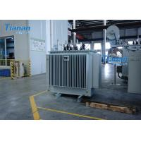 Buy cheap S11 Power Oil Immersed Power Transformer 3 Phase Core Type Transformer from wholesalers