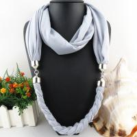 Buy cheap Braid scarf necklace Fashion neckalce scarf from wholesalers