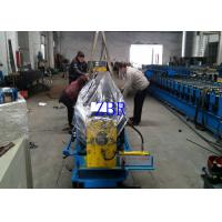 Buy cheap Aluminium Water Downspout Roll Forming Machine 60M / Min Rain Gutter equipment product