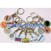 Buy cheap Shopping Trolley Token Keychain from wholesalers