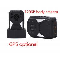 Buy cheap Black Portable Body Worn Video Camera For Security , Small Hd Body Camera product