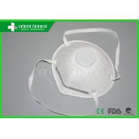 Buy cheap N95 Particulate Disposable Dust Masks For Industry , Chemistry from wholesalers