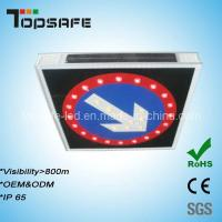 Buy cheap CE Approved LED Solar Right-Turn Traffic Lighted Arrow Board from wholesalers