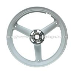 Buy cheap High Performance Custom Motorcycle Wheels Aluminum Alloy Three Spoke Cut from wholesalers