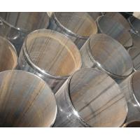 Buy cheap Large diameter ERW Steel Pipe with bevelled ends and welding bead removed from wholesalers