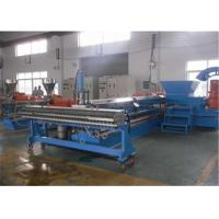 Buy cheap PP PS ABS PE Plastic Extrusion Machine 1200mm Width For Recycled Material from wholesalers