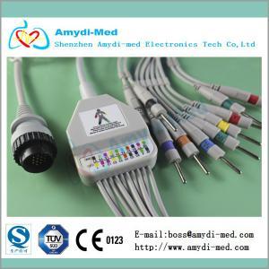 Buy cheap KANZ PC-104 EKG cable ,10 leads, AHA/IEC standard product