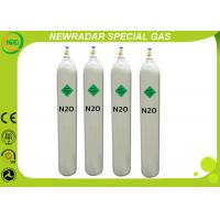 Buy cheap Medical / Industrial Gases Laughing Gas N2O For Food Additive , 1.977 G/L Density from wholesalers