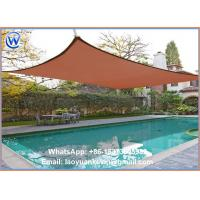 Buy cheap New 100 HDPE 16.5'x16.5'x16.5' Deluxe Triangle Sun Sail Shade Canopy Top Cover - Sepia from wholesalers