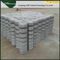 Buy cheap High Tensile Farm Hinge Joint Field Fence With Hot Dipped Galvanized Treatment from wholesalers