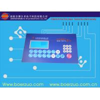 Buy cheap Custom Waterproof Membrane Switch Panel With 3M468 Metal Dome Membrane Keypad from wholesalers