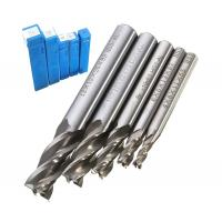 Buy cheap HSS CNC Straight Shank 4 Flute End Mill Milling / Fully Ground Cutting Drill Bit from wholesalers