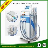 Buy cheap Super Quality Unique SHR IPL+Yag Laser+Fractional RF 4 in1 best beauty equipment from wholesalers