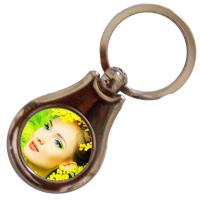 Buy cheap Novelty Products Personalized Keychains For Him And Her Customized Printed from wholesalers
