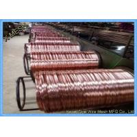 Buy cheap 2.25x0.5mm Copper Coated Flat Stitching Wire for Carton Cardboard Boxes from wholesalers