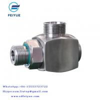 Buy cheap High pressure bend coolant pipe rotary union rotary coupling steam pipe fittings from wholesalers