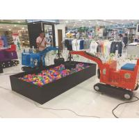 Buy cheap Amusement Park Items Children Electric Digger Vivid Rides Excavator / Kids Backhoe Digger from wholesalers