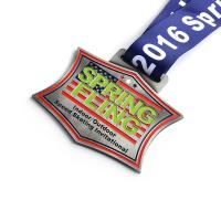 Buy cheap Eco Friendly Custom Sports Medals For Schools Antique Bronze Plating Color from wholesalers